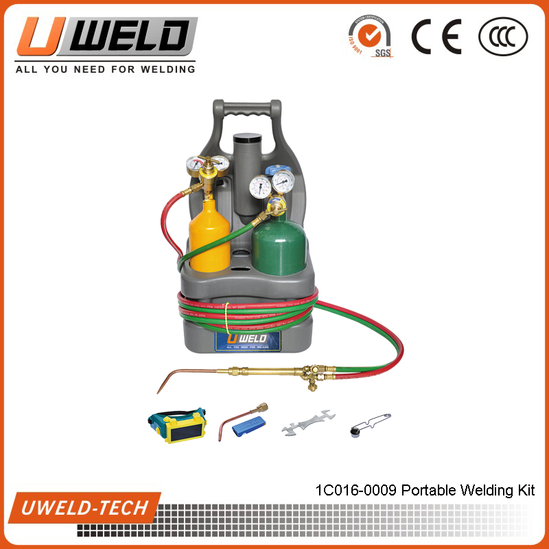 VICTOR Type Portable welding Kit Portable Gas Welding Torch Oxy Fuel Portable Tote