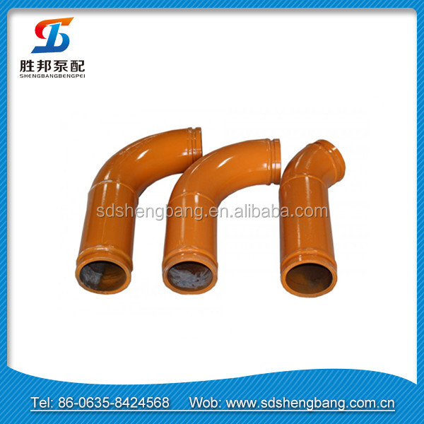 DN125*<strong>R1000</strong>*90D Concrete Pump Bend Pipe / S bend pipe / U bend pipe