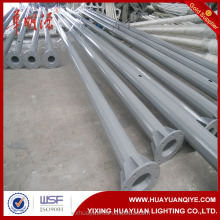 5m 8m 10m steel pole for traffic signs