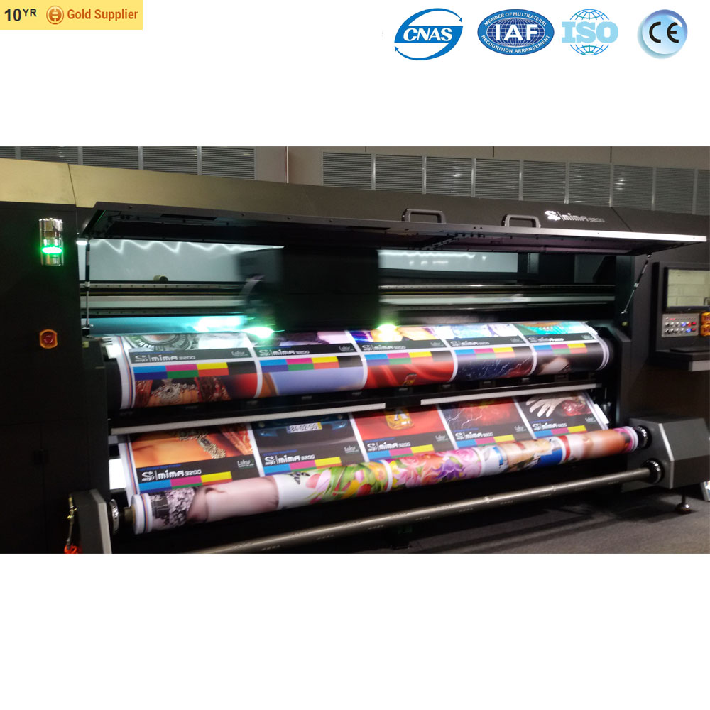 synchro double side printer large format metal printing