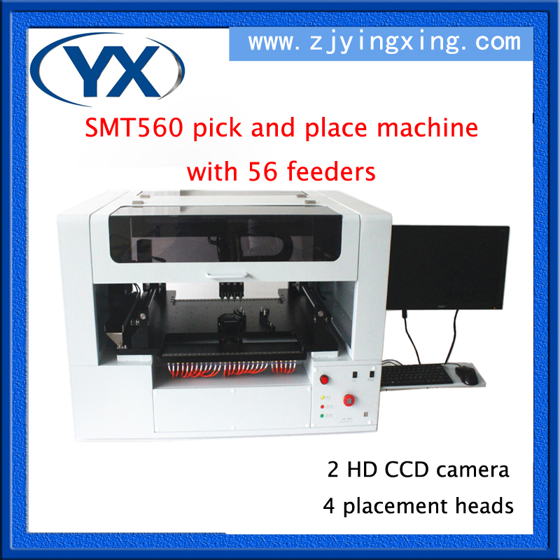 Advanced Technology LED Light Assembly Line SMT560 SMT Equipment Solar System Machine With 56 Feeders