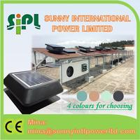 (solar) air conditioner new-solar energy systems solar powered ventilator roof mounted attic fan exhaust fan