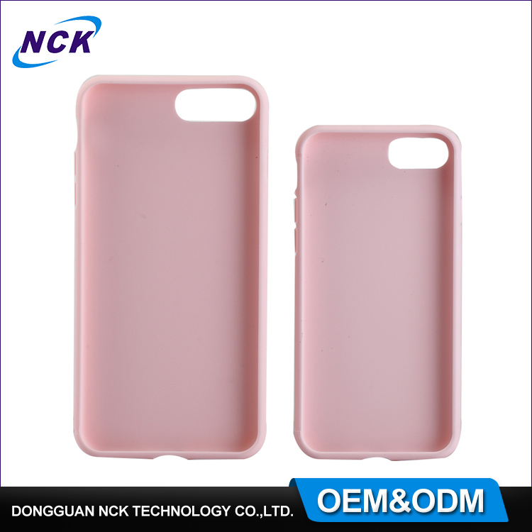 MOQ=100pcs free sample soft sublimation tpu case for iphone 6 7 7plus