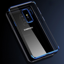 Ultra Slim TPU Phone Case For Samsung Galaxy S9 Plus Soft Gel Transparent Back Cover
