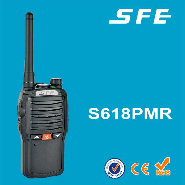 The lowest price dual band display two way radio with torch light