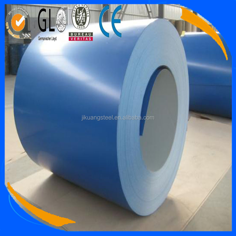 PPGI / Color Coated Galvanized Steel Coil from SHANDONG, CHINA, for all ral colours