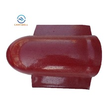 Cheapest ASA Synthetic Resin Roofing Accessories End Cap Tiles Ridge