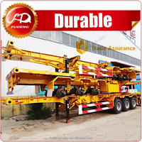 China Supplier 40ft Skeletal Container Truck