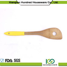 New Product Small Stylish Wood Kitchen Cooking Utensils