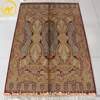 3.3x5ft hand knotted persian silk rug and carpet price lowes indian silk mosque prayer carpet