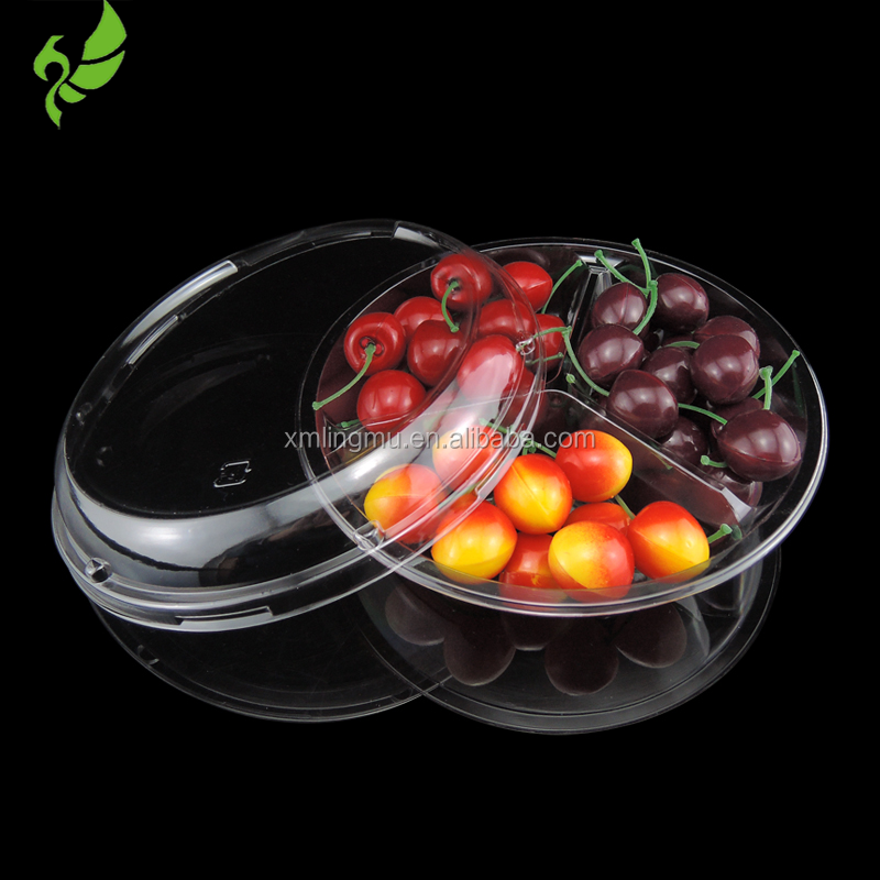 2016 Fresh Fruit Tray&Container Blister Packaging With Divider