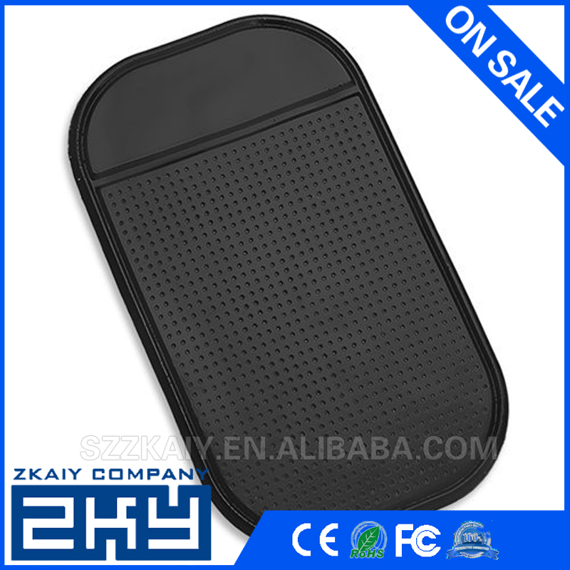 Magic Anti-slip Non-slip Mat Car Dashboard Adhesive Mat Sticky Pad for Cell Phone silicone sheet