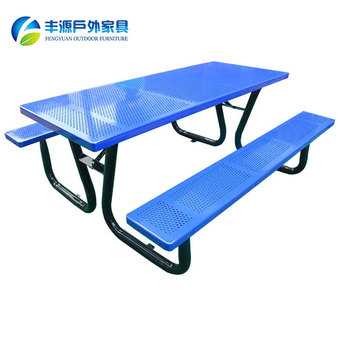 Wholesale Aluminium Metal Picnic Tables Folding Picnic Table For Sale