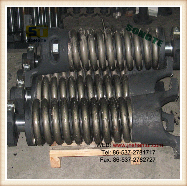 pc300 excavator recoil spring,track adjuster,tensioning spring 207-27-61210.construction machinery parts