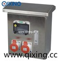 Standard stainless steel power combination socket box