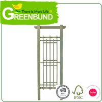 Iron Trellis Garden Pergola Kit Arbor Idea Treli Wood 2016