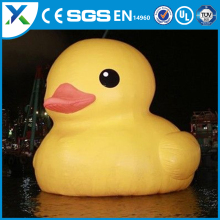 Wholesale 10m PVC Floating Christmas Rubber Duck Custom inflatable Duck For Inflatable Water Toys