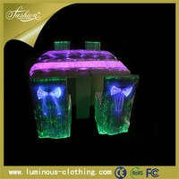 newest luminous light up elastic party garden swing chair cover