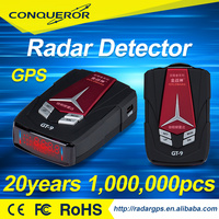 Portable Car Anti-Police 360 Protection Defense Laser Detection anti speed Radar Detector