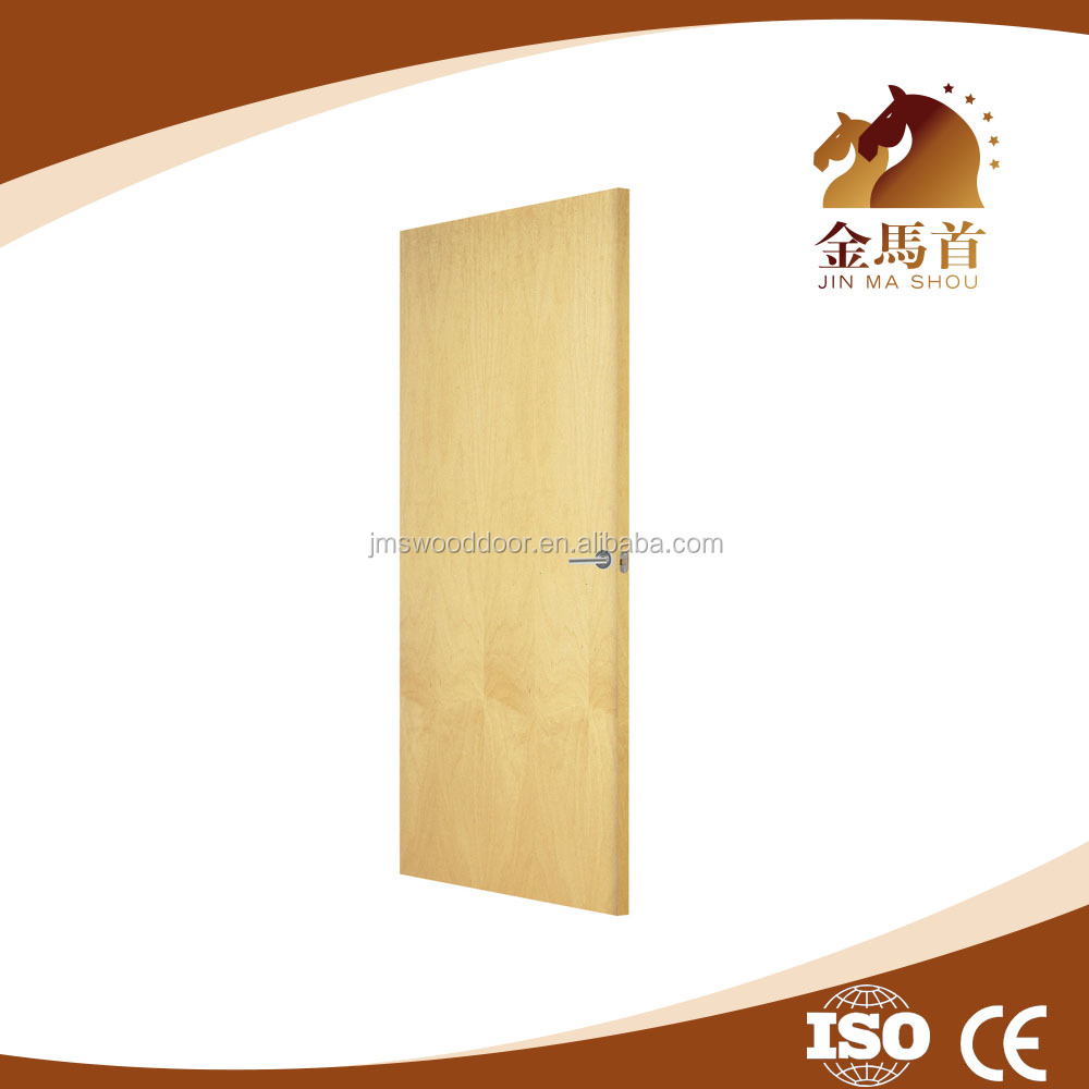 Wholesale engineer veneer plywood flush door price