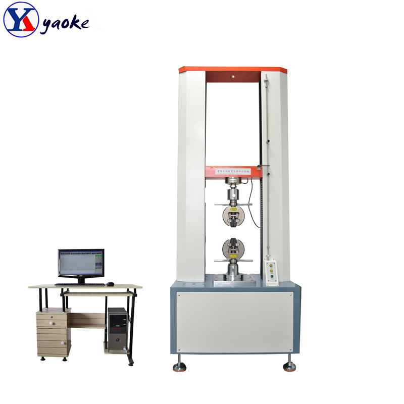 Electronic Computer Rubber Universal Plastic Film Used Rebar Steel Wire UTM Polymer Tensile Testing Machine Price
