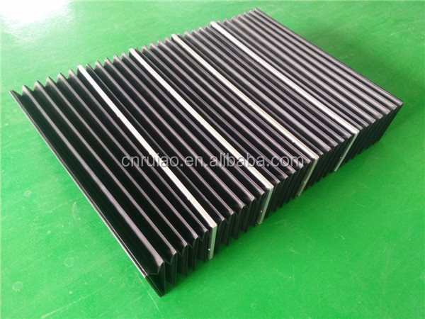 CNC machine flexible accordion shield telescopic guard