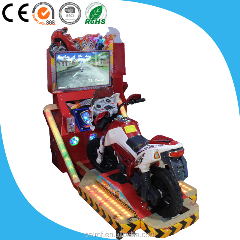 2016 Best Selling Max Tt Racing Motorcycle Arcade Video Game Machine