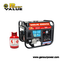 New products on china market 4000-watt lpg portable propane generator with factory price
