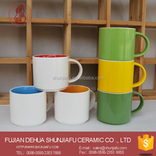 Color ceramic stacking cups