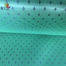 100% Polyester Lining Fabric Wholesale Black Silk Diamond Check Jacquard Lining Fabric For Suit and Fur Coat