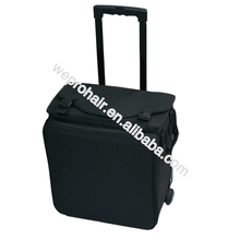 Professional Travel Case On Wheels Trolley Tool Pouches Bags With Telescopic Handle