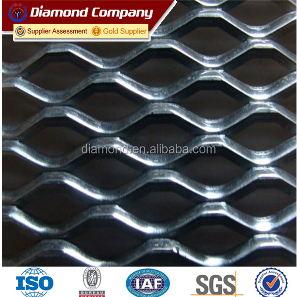 Stainless Steel/Steel/Aluminum Small Hole Expanded Metal Mesh