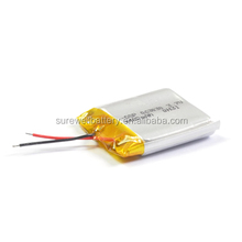 3.7V li polymer rechargeable battery Lithium li-ion cell for hearing aid or bluetooth