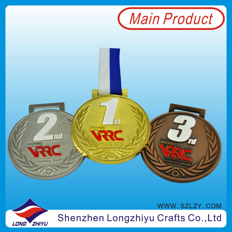Promotional tile round mosaic medallion high quality award medal sport
