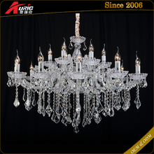 Hot Sale Big Moroccan Crystal Chandelier For Low Ceiling