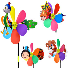 Best Selling Wholesale Three Dimensional Cartoon <strong>Windmill</strong> Pattern Optional Children's Toy Plastic <strong>Windmill</strong>