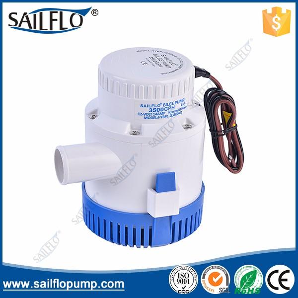 sailflo 3500GPH Bilge pump
