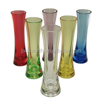 Plastic vase home decor