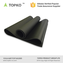 Eco Friendly High Density Black Thick Memory Foam Yoga mat