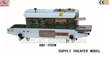 Hongzhan CBS/DBF series continuous plastic film ink roll code sealing machine