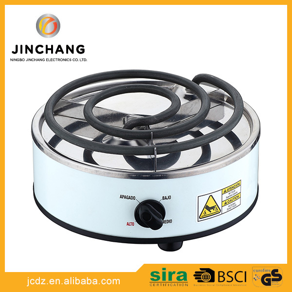Cheap round single cast iron burner cooktop stove coil electric hot plate