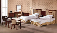 commercial furniture hotel double bedroom sets/ex hotel furniture for sale XY2342