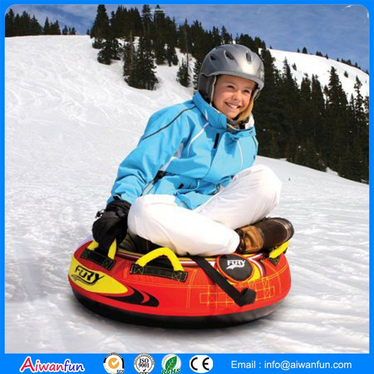 inflatable snow sled tube cover