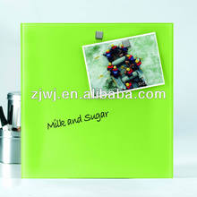 Easy assembly Office Magnetic glass memo board