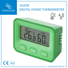 Indoor Digital Thermometer & Hygrometer Station With MIN/MAX Records For Home/Office/Room