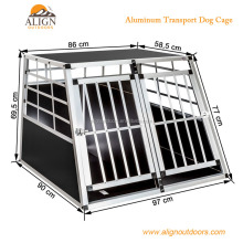 Solid Aluminum Transport Dog Pet Playpen Cage