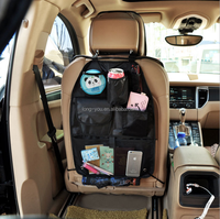 car seat organizer with drinking cup holder backseat car organizer