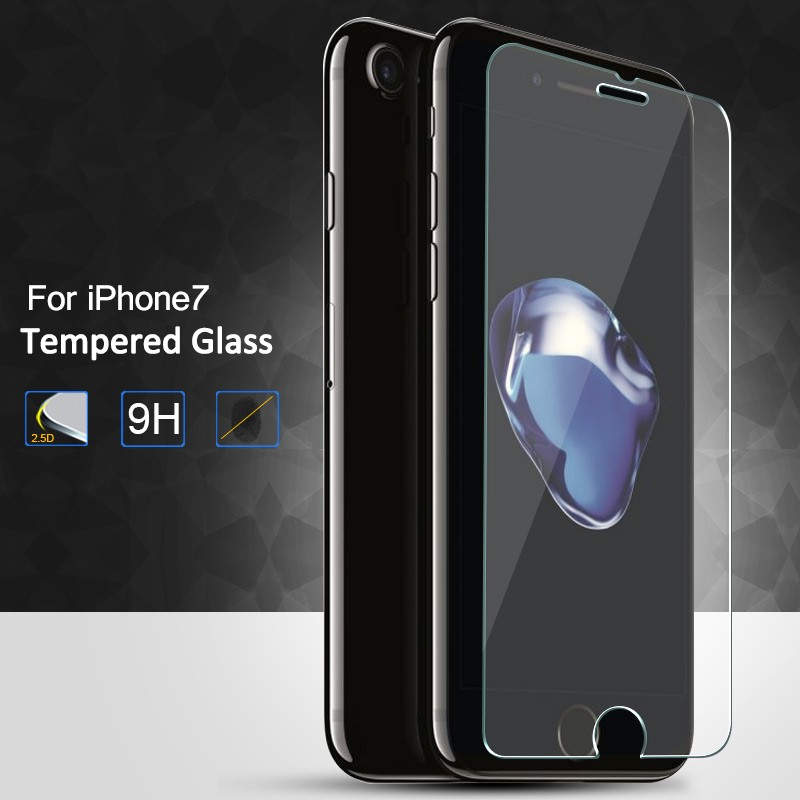 For iPhone 7/ 6 /IPhone 6s 4.7 inch New Premium Transparent Real Tempered Glass Film Anti-Scratch Screen Protector#