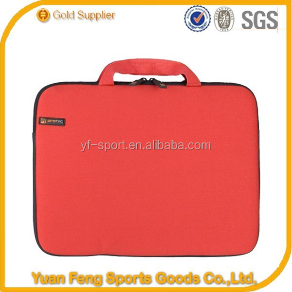 Waterproof shockproof top quality wholesale nylon laptop briefcase