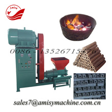 Wood / sawdust / rice husk briquette making machine for sell